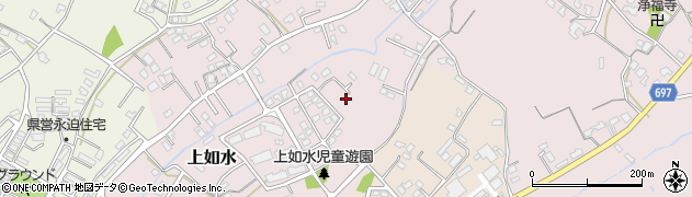 大分県中津市上如水952周辺の地図
