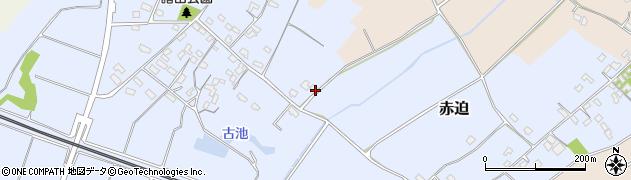 大分県中津市赤迫425周辺の地図
