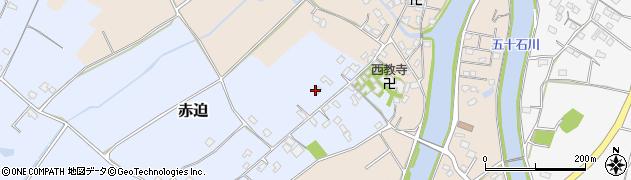大分県中津市赤迫167周辺の地図