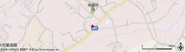 大分県中津市上如水1525周辺の地図