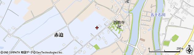 大分県中津市赤迫170周辺の地図