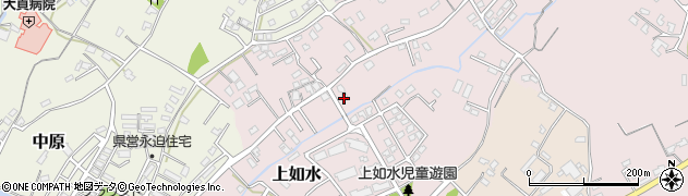 大分県中津市上如水695周辺の地図