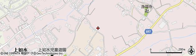 大分県中津市上如水915周辺の地図