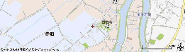 大分県中津市赤迫176周辺の地図
