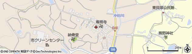 福岡県糸島市志摩西貝塚周辺の地図