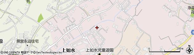 大分県中津市上如水957周辺の地図