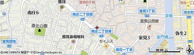 パンジークリーニング 室見店周辺の地図