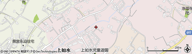 大分県中津市上如水955周辺の地図