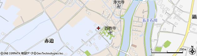 大分県中津市赤迫178周辺の地図