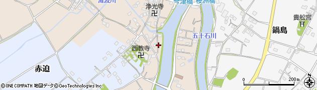 大分県中津市今津588周辺の地図