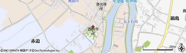 大分県中津市今津624周辺の地図