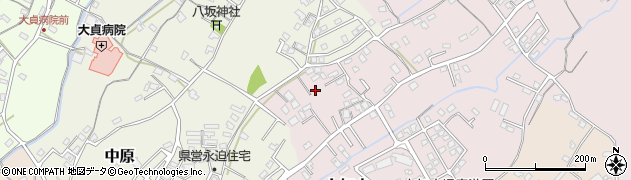 大分県中津市上如水661周辺の地図
