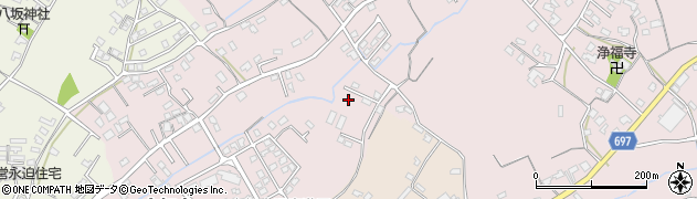 大分県中津市上如水1104周辺の地図