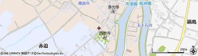 大分県中津市今津620周辺の地図