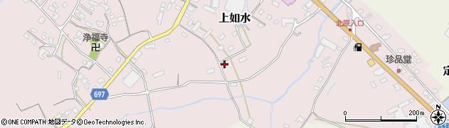 大分県中津市上如水1459周辺の地図