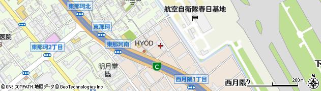 オートマックス空港店周辺の地図