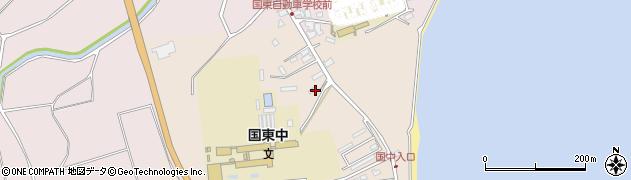 大分県国東市国東町田深1467周辺の地図