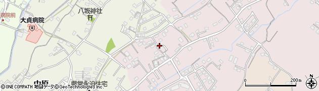 大分県中津市上如水641周辺の地図