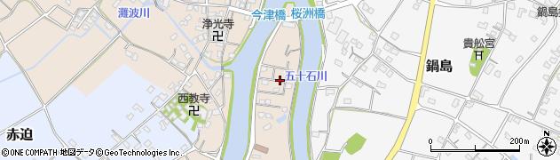 大分県中津市今津1148周辺の地図
