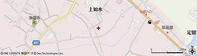 大分県中津市上如水1458周辺の地図
