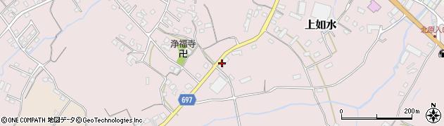 大分県中津市上如水1552周辺の地図