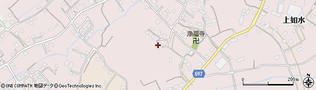 大分県中津市上如水1129周辺の地図