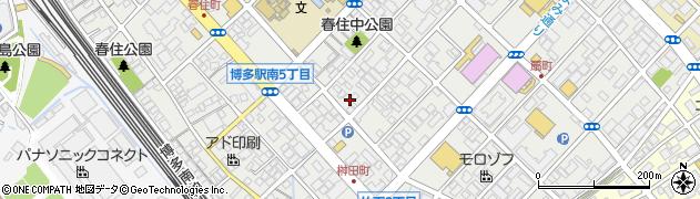 株式会社スイデン 福岡支店周辺の地図