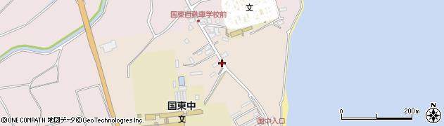 大分県国東市国東町田深1466周辺の地図