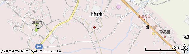 大分県中津市上如水1452周辺の地図