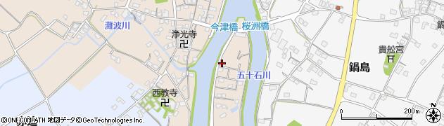 大分県中津市今津234周辺の地図