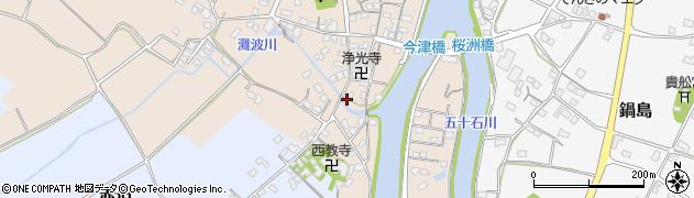 大分県中津市今津556周辺の地図