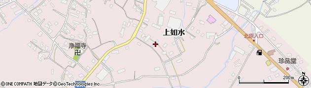 大分県中津市上如水1380周辺の地図