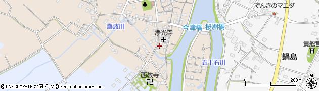 大分県中津市今津563周辺の地図