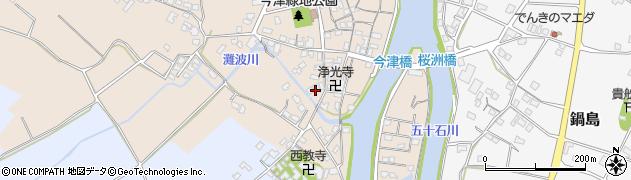 大分県中津市今津554周辺の地図