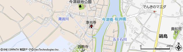 大分県中津市今津572周辺の地図