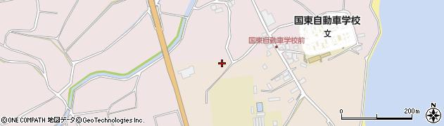 大分県国東市国東町北江伊予野周辺の地図