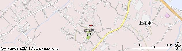 大分県中津市上如水1159周辺の地図