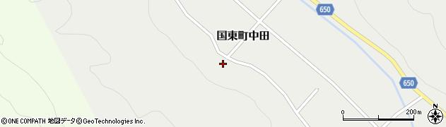大分県国東市国東町中田962周辺の地図