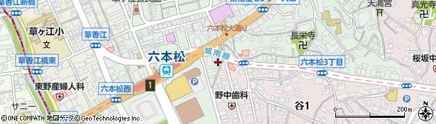 スタイルフレーバーダンスセンター周辺の地図