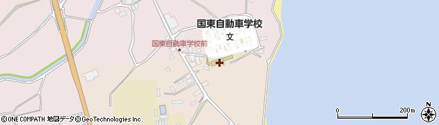 大分県国東市国東町北江4398周辺の地図