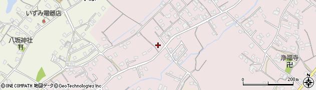 大分県中津市上如水587周辺の地図