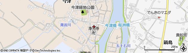 大分県中津市今津573周辺の地図