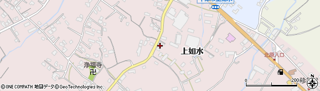 大分県中津市上如水1271周辺の地図