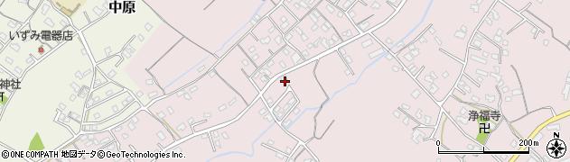 大分県中津市上如水724周辺の地図
