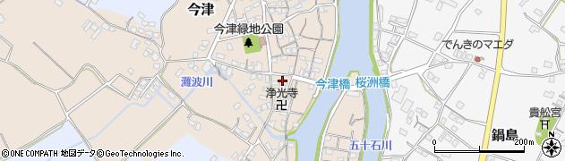 大分県中津市今津575周辺の地図