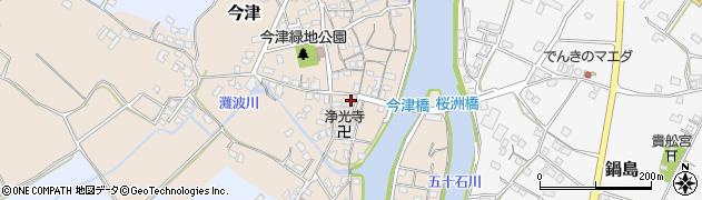 大分県中津市今津576周辺の地図