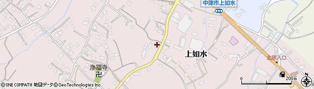 大分県中津市上如水1369周辺の地図