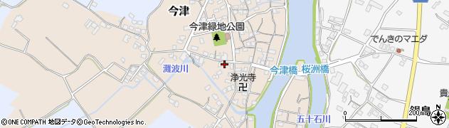大分県中津市今津545周辺の地図