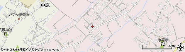 大分県中津市上如水583周辺の地図