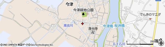 大分県中津市今津537周辺の地図